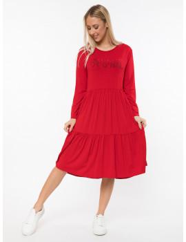 Regan Dress - Red