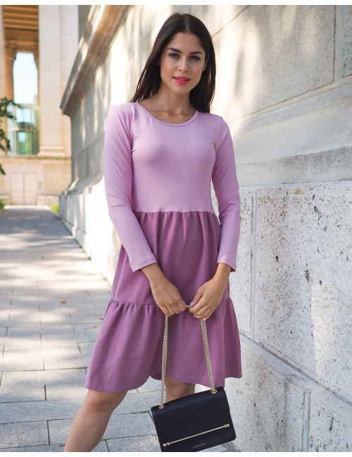 Debora Dress - Mauve