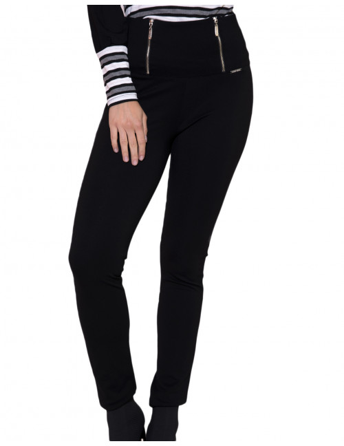 Skinny Trousers - Black