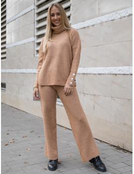 Clara Knitted Set - Camel