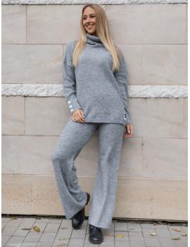 Clara Knitted Set - Grey