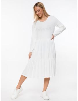 Regan Dress - White