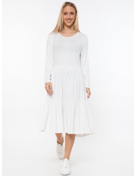 Regan Dress - White