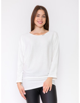 Belinda Knit Top - White