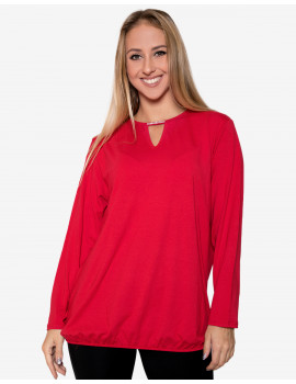 Chandra Blouse - Red
