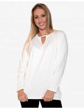 Chandra Blouse - White