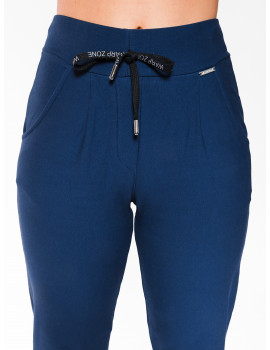 Warm Cotton Jogging Trousers - Navy