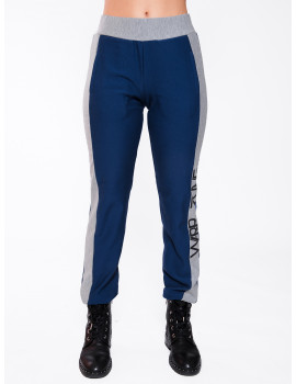Cotton Jogging Trousers - Navy