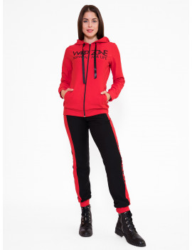 Cotton Jogging Trousers - Red