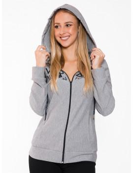 Cotton Jogging Cardigan - Grey
