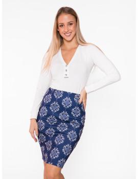 Lola Skirt - Navy