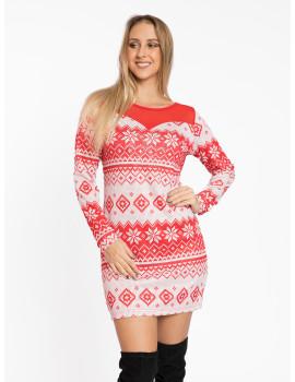 Joy Dress - Red