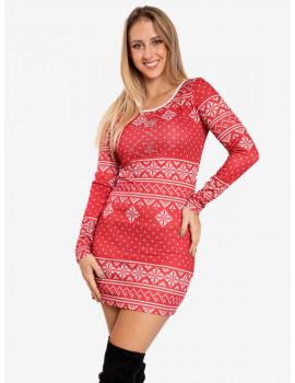 Snow Tunic/Dress - Red