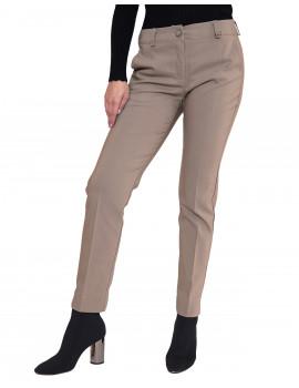Cigarette Trousers - Beige