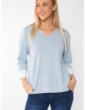Vivienne Light Knit - Pastel Blue