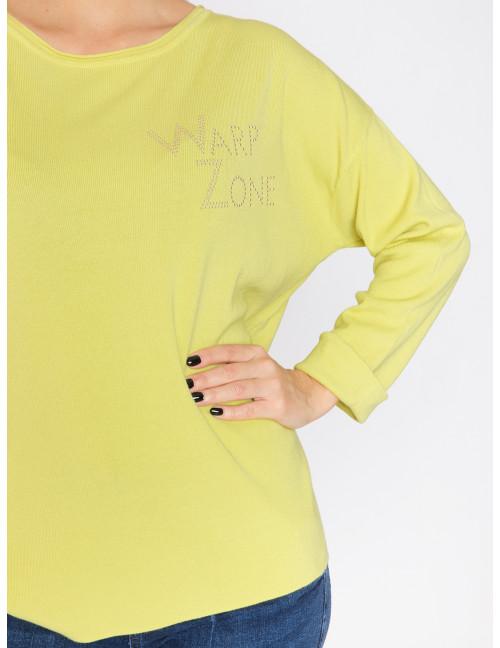 Sonia Light Knit - Banana Green
