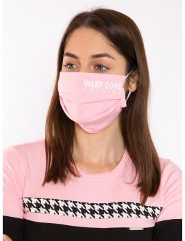 Warp Zone Mask - Light Pink