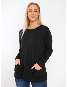 Isabella Light Knit - Black