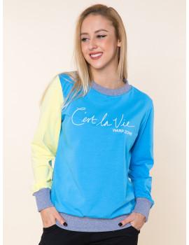 Molly Cotton Top - Blue
