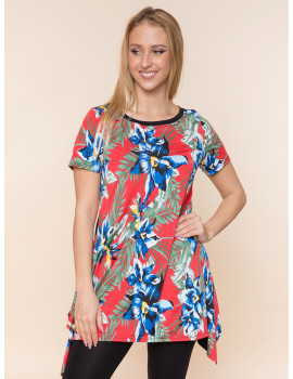 Zoella Tunic - Green or Red