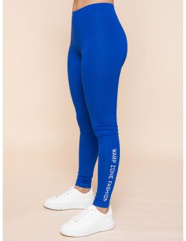 Warp Zone Leggings - Royal Blue