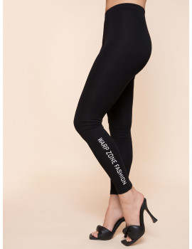 Warp Zone Leggings - Black