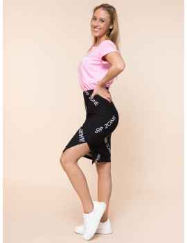 Warp Zone Pencil Skirt - Fekete