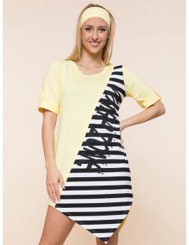 Vani Tunic - Pastel Yellow