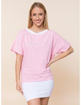 Paloma Top - Pastel Pink
