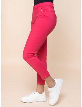 Cigarette Trousers - Pink