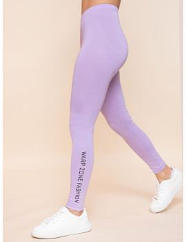 Warp Zone Leggings - Lavender
