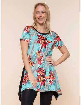 Zoella Tunic - Navy or Turquoise