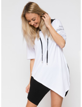Hooded Tunic - White