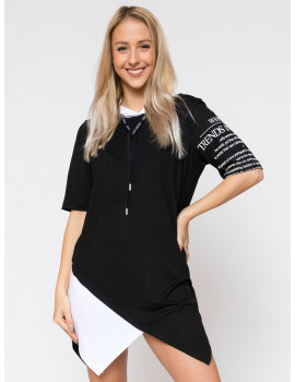 Hooded Tunic - Black