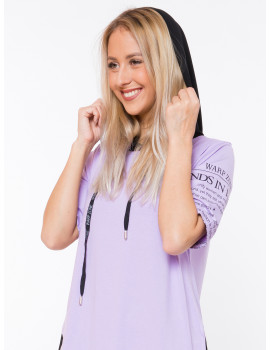 Hooded Tunic - Lavender