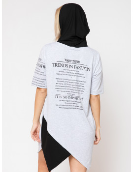 Hooded Tunic - Grey