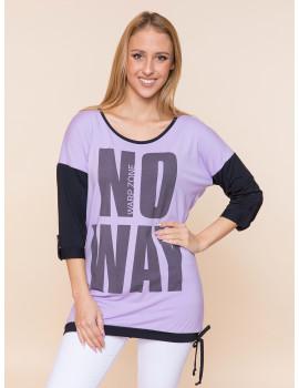 No Way Tunic - Lavender