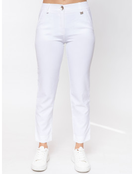 Leila Trousers - White