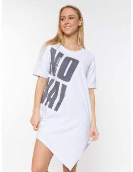 No Way Cotton Tunic - White