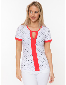 Wendy Logo Top - Red