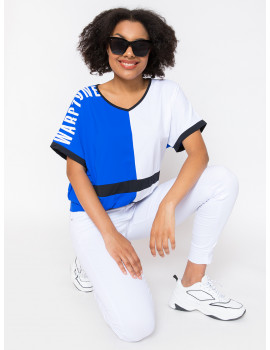 Jennifer Loose Top - Royal Blue