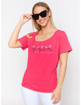 Henriett Cotton Top - Pink