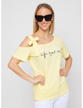 Henriett Cotton Top - Yellow