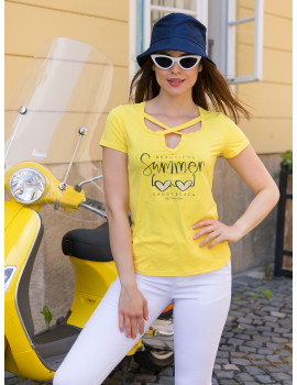 Lola Top - Yellow