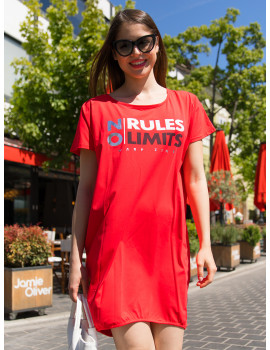 No Limits Tunic - Red