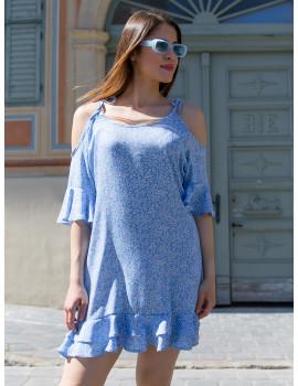 Sienna Dress - Blue