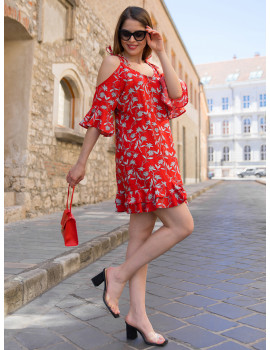 Sienna Dress - Red