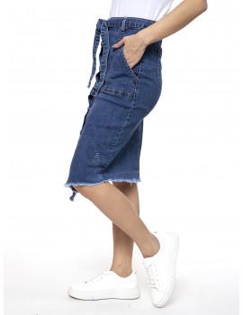 Debra Denim Skirt