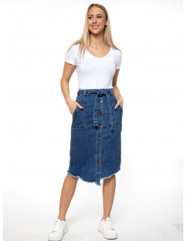 Debra Denim Skirt