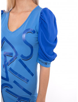 Elena Dress - Blue